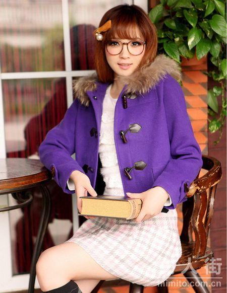 气质深紫色搭配 初秋让你最抢镜