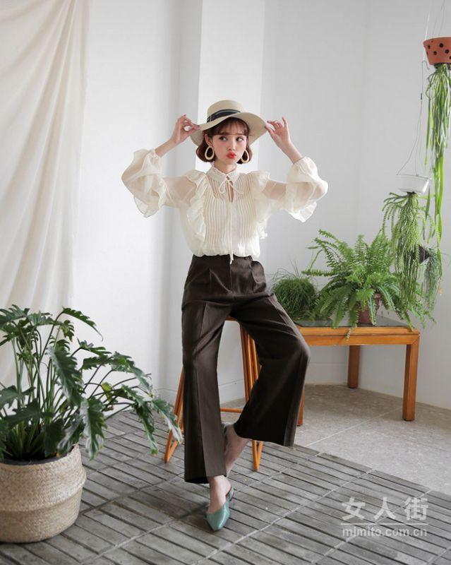 白色雪纺衫穿搭 时尚达人教你5种穿搭小技巧